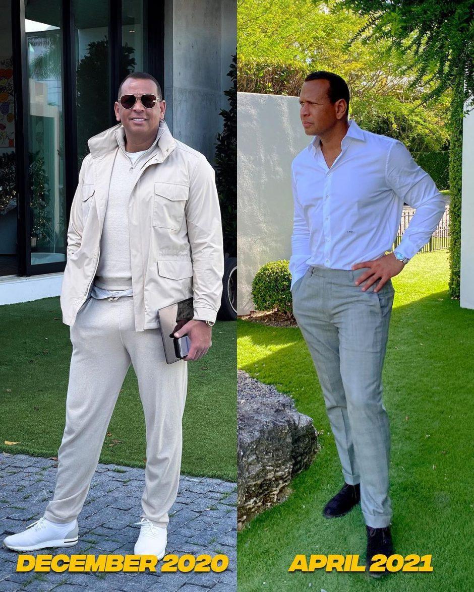 После расставания с Дженнифер Лопес Алекс Родригес сильно похудел - 1