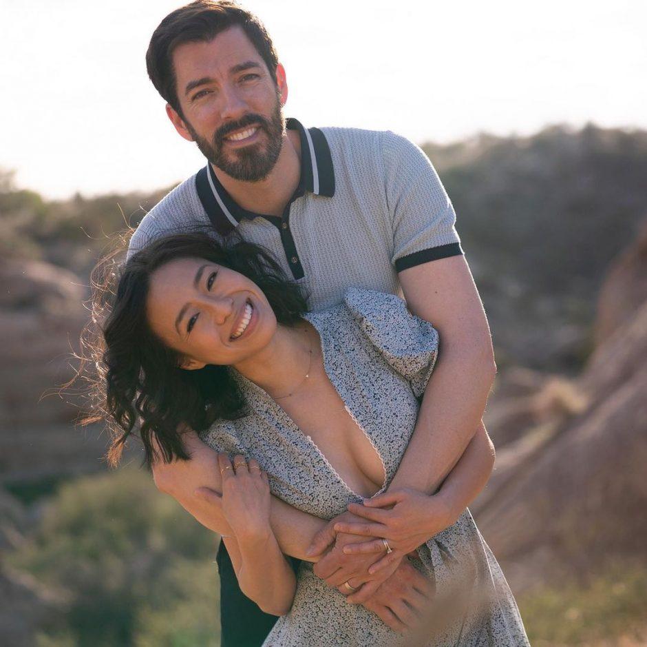 Дрю Скотт признался, что поженился с Линдой Фан за 3 дня до официального бракосочетания - 1