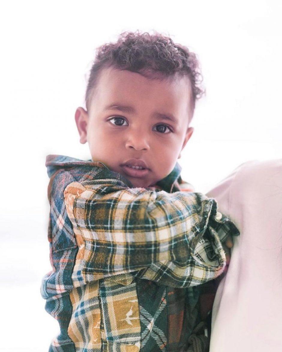 Ким Кардашьян на День Матери отмечала и 2-й день рождения сына Псалма - 2