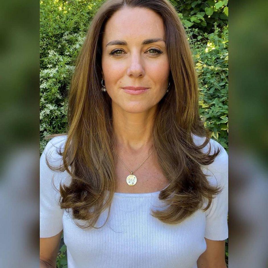 Кейт Миддлтон надела ожерелье с гравировкой имен своих детей - 1