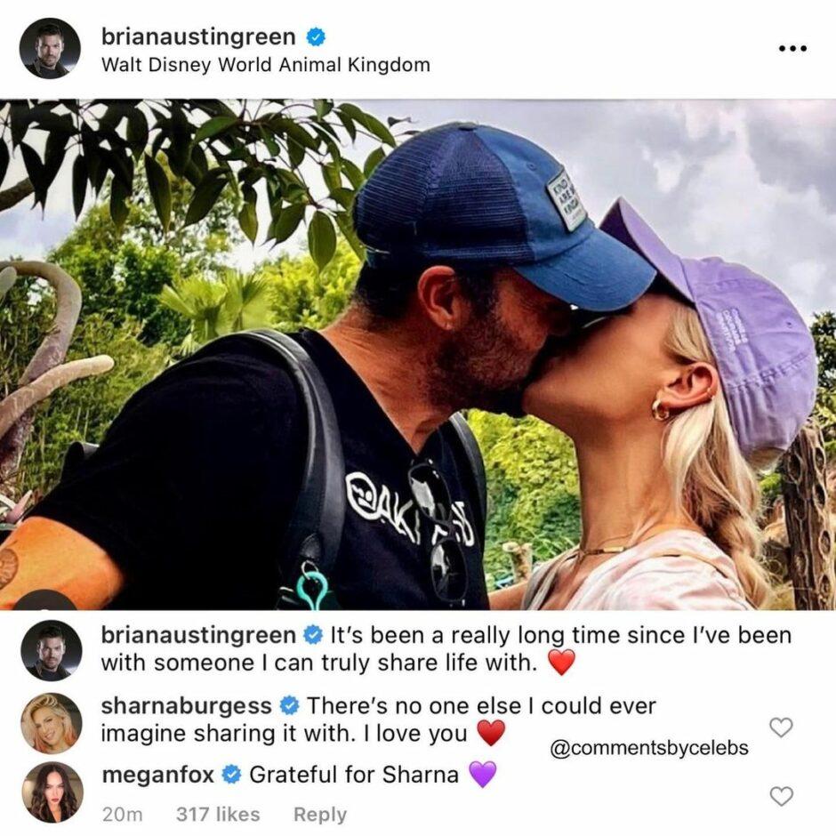 Меган Фокс оставила загадочный комментарий под фото экс-супруга с новой девушкой - 1