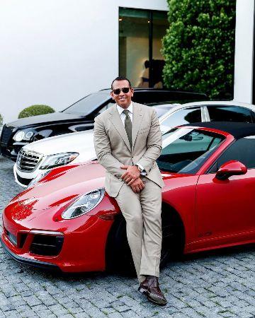 Алекс Родригес забрал у Дженнифер Лопес машину, которую подарил ей на День рождения! - 1