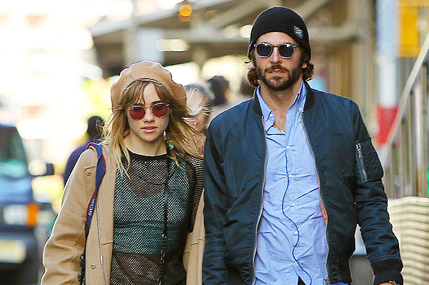 Bradley Cooper and Suki Waterhouse spend a romantic day in NYC