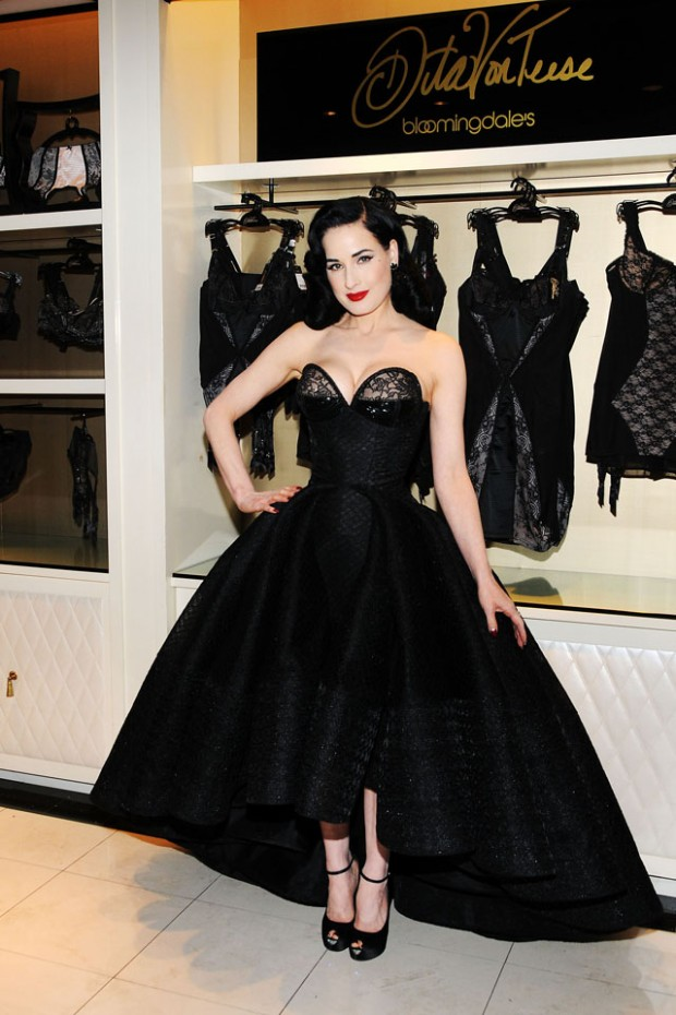 Dita Von Teese Lingerie Collection Launch