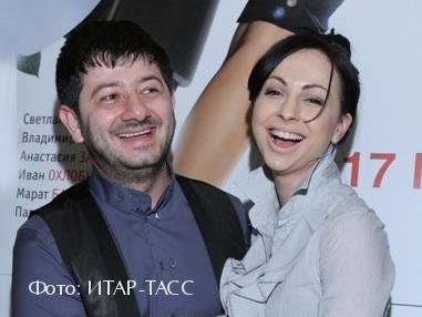 Михаил Галустян с женой Викой