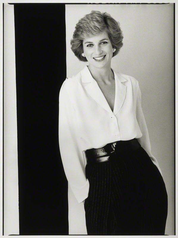 NPG P397; Diana, Princess of Wales by David Bailey