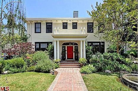 Katherine Heigl's Los Feliz home.