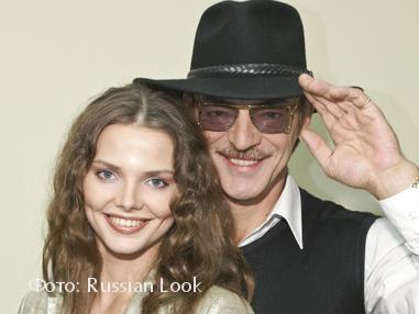 Михаил и Лиза Боярские