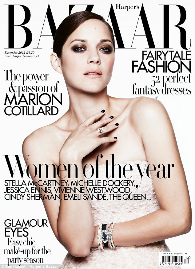 Amazing women: The issue celebrates great women including Stella McCartney and Michelle Dockery