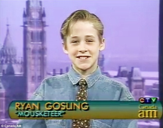 Mouse Boy: Ryan Gosling could see his old nickname make a comeback after this hilarious vintage interview was unearthed as part of Canada AM's anniversary celebration