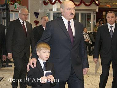 Александр и Николай Лукашенко