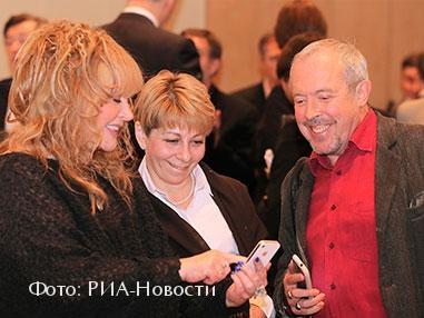 Алла Пугачева, Елизавета Глинка и Андрей Макаревич