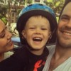 Хилари Дафф отпраздновала день рождения сына с бывшим мужем