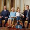 От Елизаветы II до принца Джорджа: четыре поколения на юбилейном фото