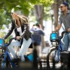 Леонардо Ди Каприо и его новая возлюбленная покатались на велосипедах