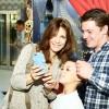 Екатерина Климова вышла в свет с мужем и детьми