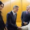 Амаль и Джордж Клуни встретились с Папой Римским