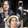 Дочь Мадонны рыдала посреди Нью-Йорка