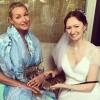 Анастасия Волочкова пришла на свадьбу помощницы без нижнего белья