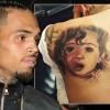 Крис Браун сделал татуировку дочери