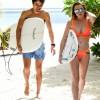 Линдси Лохан отдыхает с женихом на курорте