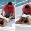 Криштиану Роналду запечатлён с мамой во время отдыха
