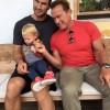 Арнольд Шварценеггер предложили двухлетней дочке Кличко кубинскую сигару