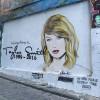 Мурал с изображением Тэйлор Свифт изменили на Канье Веста