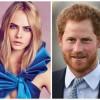Кара Делевинь общается с принцем Гарри исключительно по пьяни