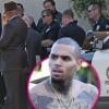 Певца Криса Брауна отпустили под залог