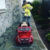 Владимир Пресняков подарил сыну первый автомобиль