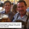Арнольд Шварценеггер публично признался в любви к внебрачному сыну