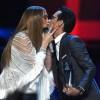 Дженнифер Лопес целовалась с Марком Энтони