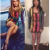 Оливия Манн примеряла платье Дженнифер Лопес