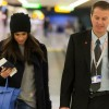 Как принцесса: Меган Маркл доставили в аэропорт Хитроу с эскортом