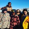 Мадонна объединилась со своими детьми в Новый год
