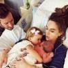 Арми Хаммер опубликовал первое фото новорожденного сына