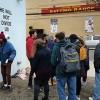Протестную акцию Шайи ЛаБафа закрыли