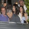 Амаль и Джордж Клуни сходили на ужин в любимый ресторан