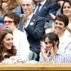 Кейт Миддлтон и Меган Маркл впервые без мужей на финале теннисного турнира