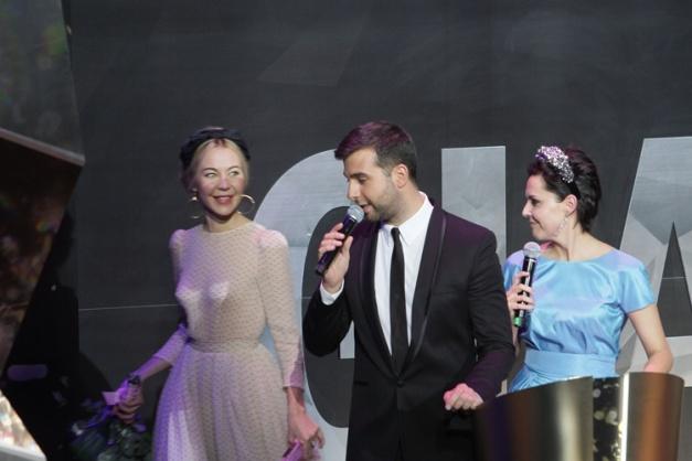 Ульяна Сергиенко на церемонии Женщина года Gl