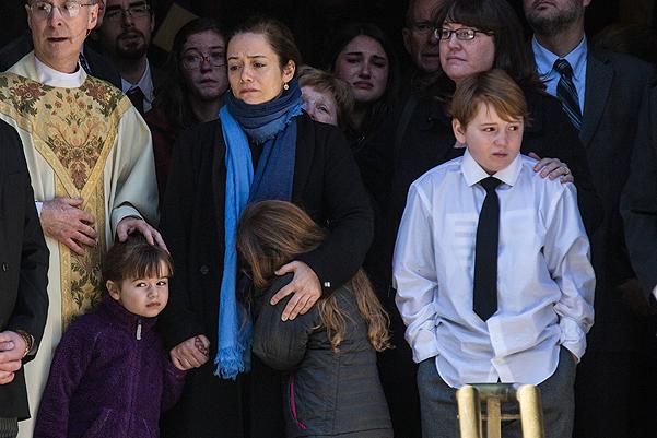 Philip Seymour Hoffman's Funeral Service