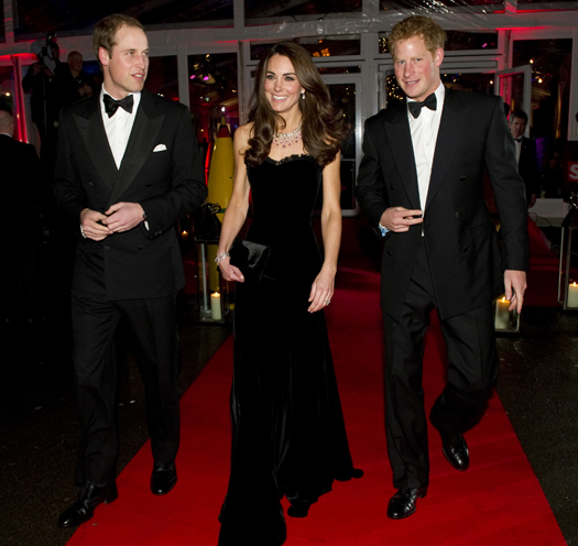 The Duke And Duchess Of Cambridge With Prince Harry Attend A Night For Heroes Sun Military Awards