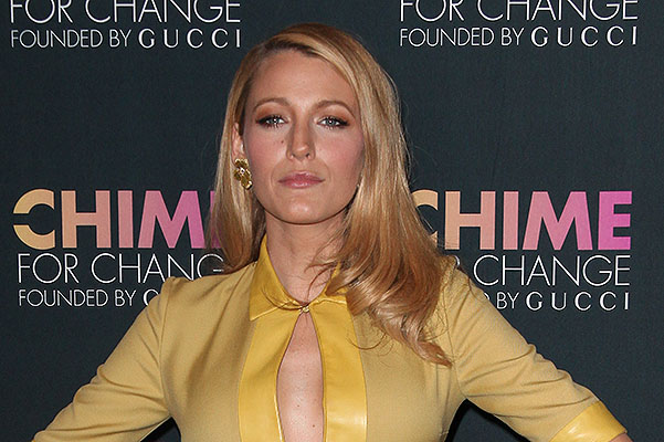 Chime For Change one-tear anniversary event at the Gucci flagship store Featuring: Blake Lively Where: New York City, New York, United States When: 03 Jun 2014 Credit: PNP/WENN.com
