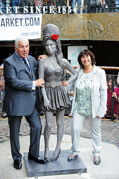 Amy Winehouse Statue Unveiling