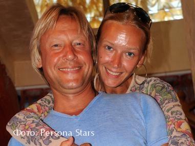 Дмитрий Харатьян и его жена Марина