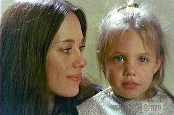 Angelina Jolie shares her family album with Inside The Actor's Studio