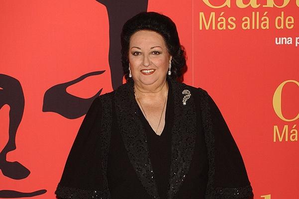 Soprano Monserrat Caballe Promotes Documentary