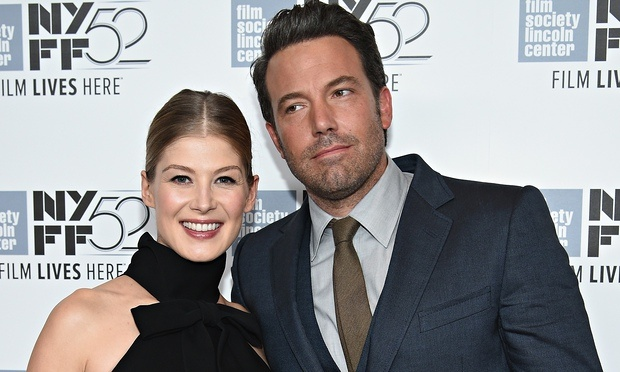 gone girl new york premiere rosamund pike ben affleck