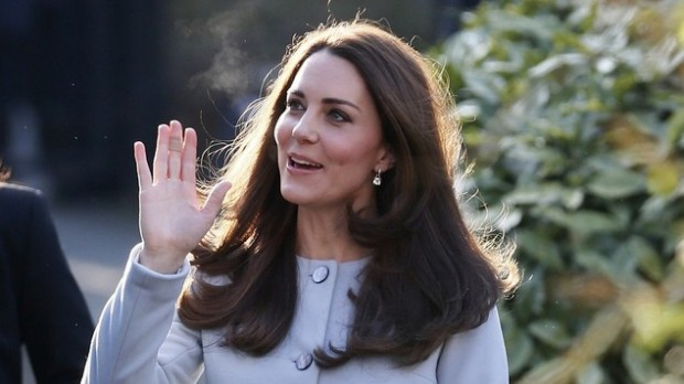 Duchess of Cambridge visits Kensington